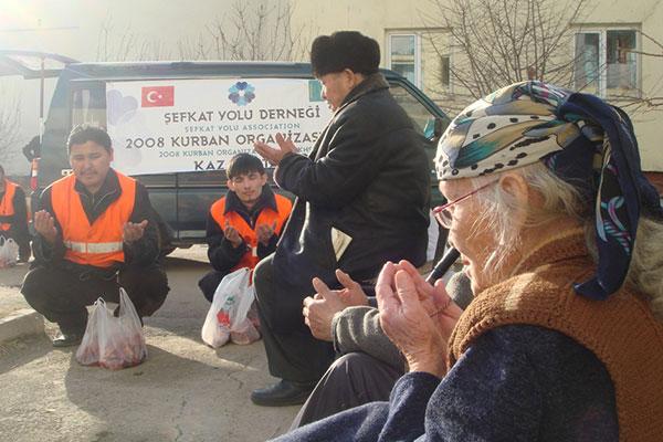 Kazakistan ile Türkiye Arasında Kurulan Şefkat Köprüsü