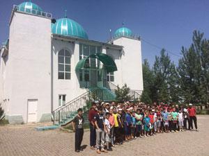 Kırgızistan'da Yaz Kursları Başladı