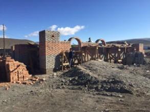 Moğolistan'da Camii Yapımı Tüm Hızıyla Devam Ediyor
